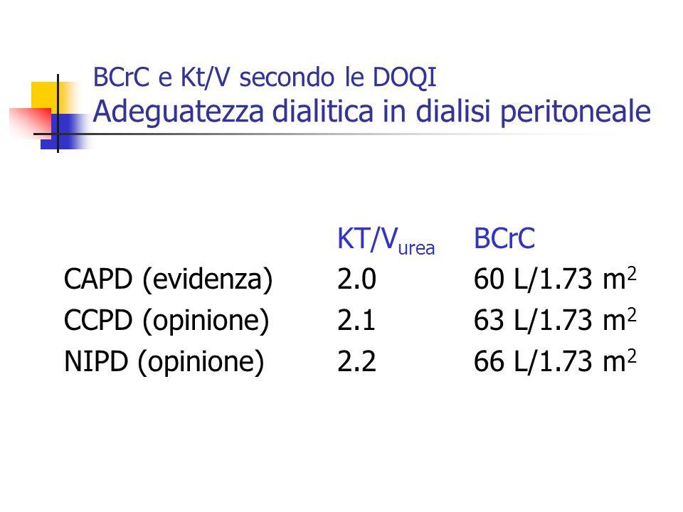 KT/Vurea BCrC CAPD (evidenza) 2.0 60 L/1.73 m2