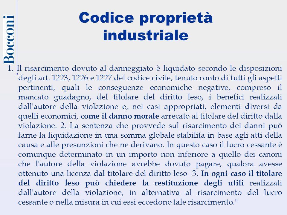 Codice proprietà industriale