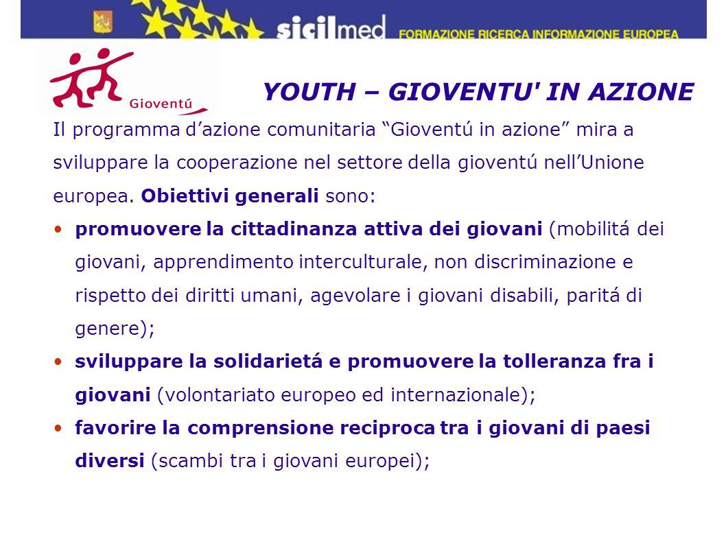 YOUTH – GIOVENTU IN AZIONE