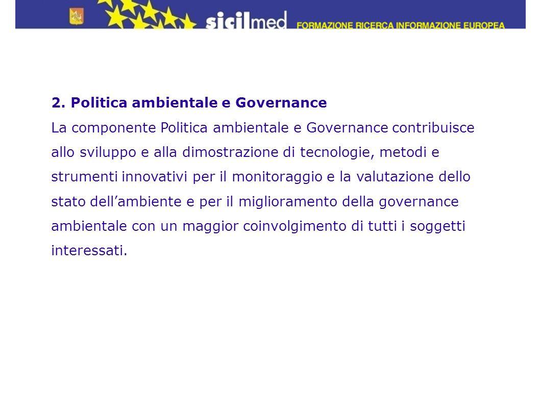 2. Politica ambientale e Governance