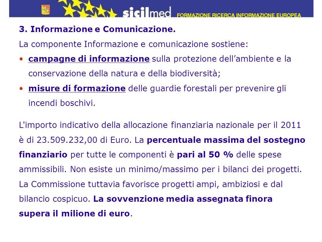 3. Informazione e Comunicazione.