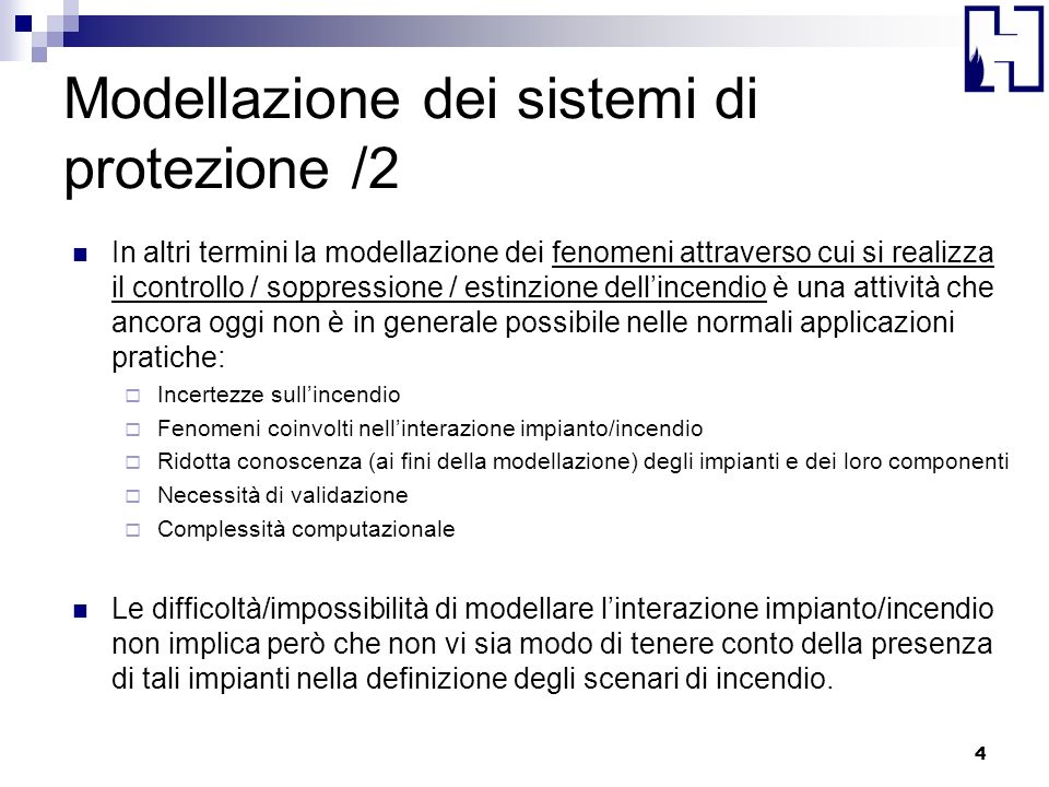 Modellazione dei sistemi di protezione /2