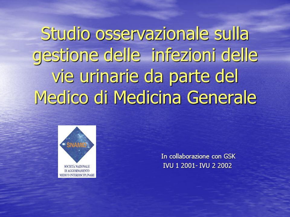 In collaborazione con GSK IVU 1 2001- IVU 2 2002