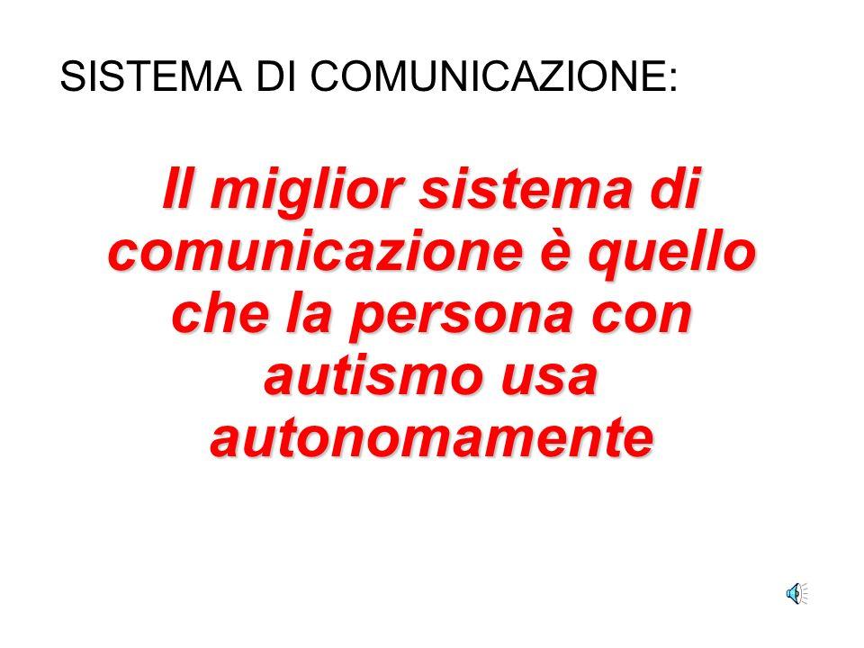 SISTEMA DI COMUNICAZIONE: