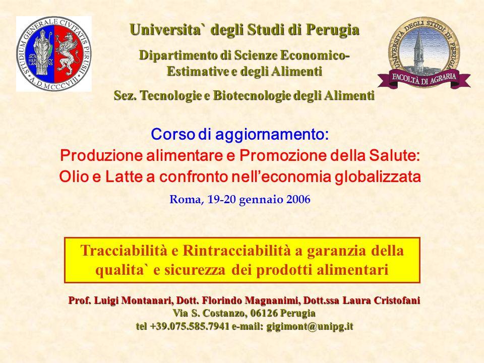 Universita` degli Studi di Perugia