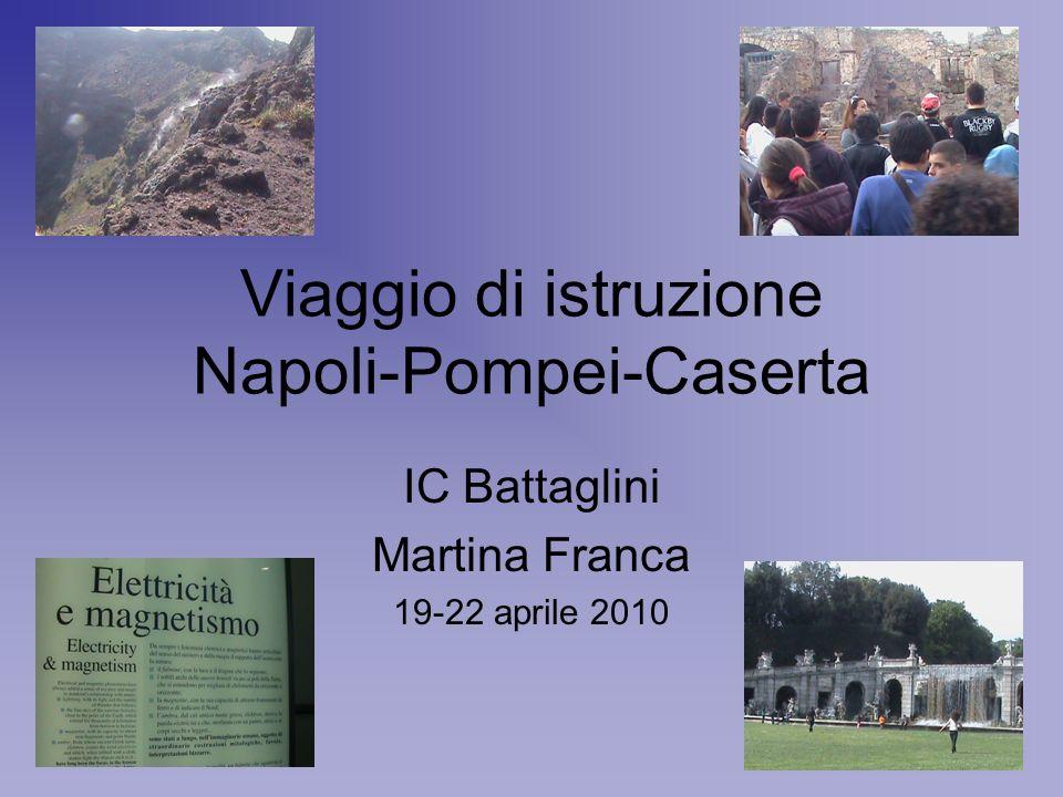 Viaggio di istruzione Napoli-Pompei-Caserta
