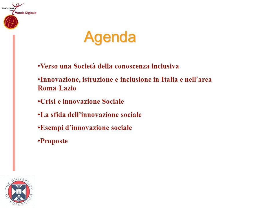 Agenda Verso una Società della conoscenza inclusiva