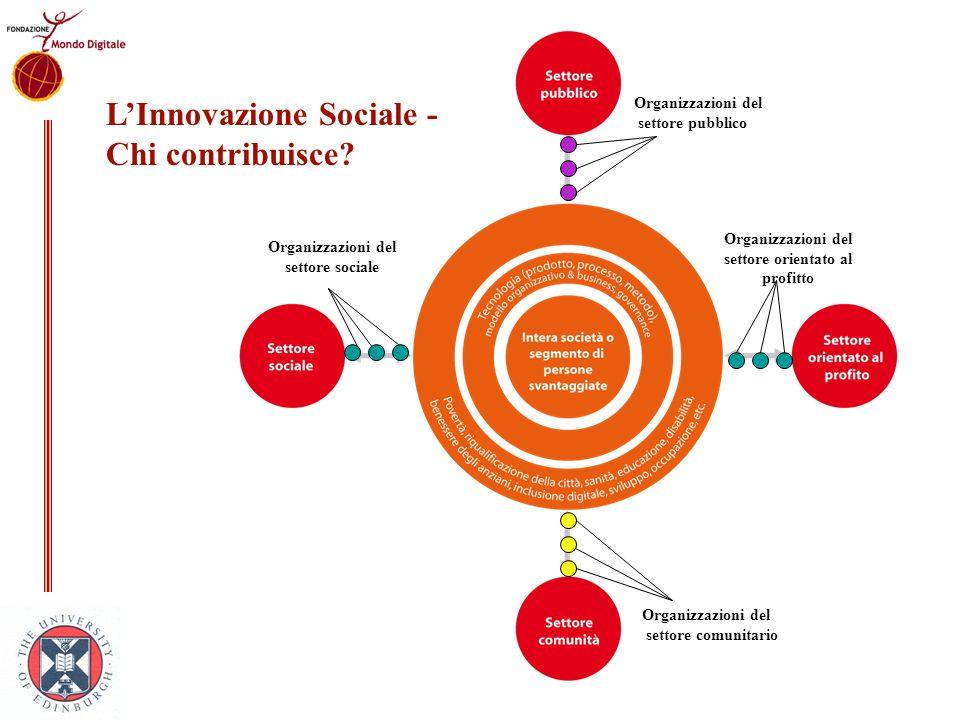 L'Innovazione Sociale - Chi contribuisce