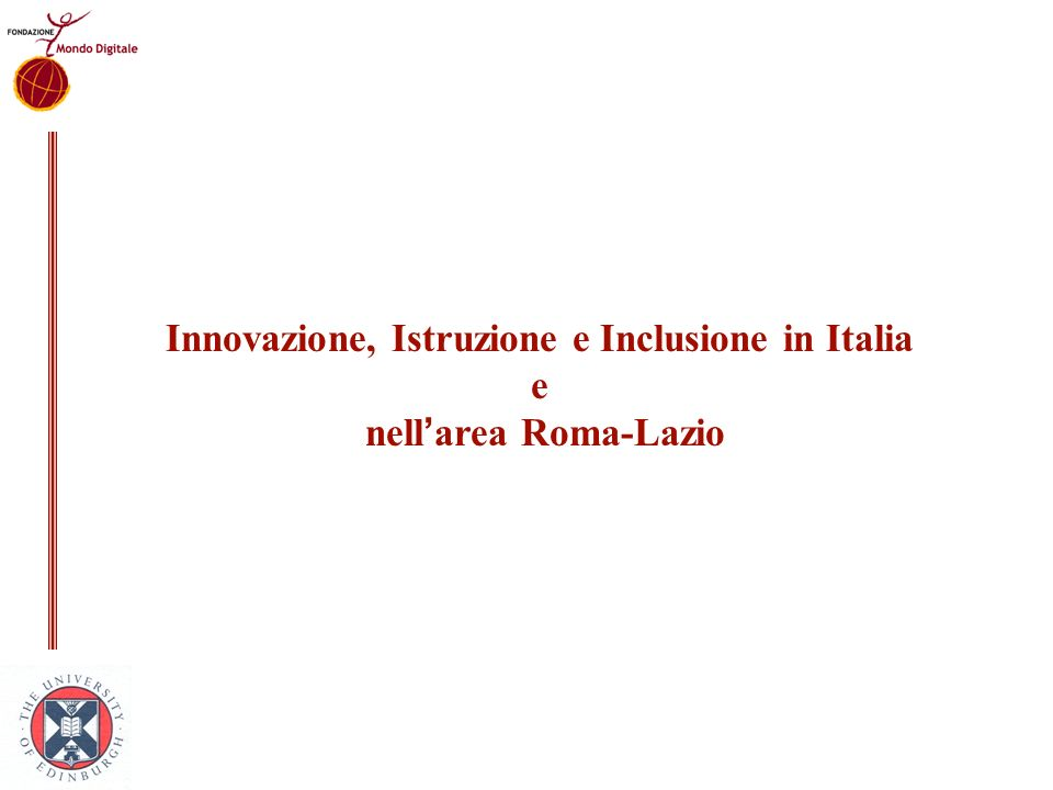 Innovazione, Istruzione e Inclusione in Italia