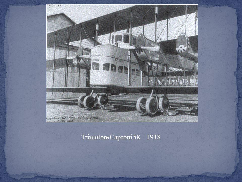 Trimotore Caproni 58 1918