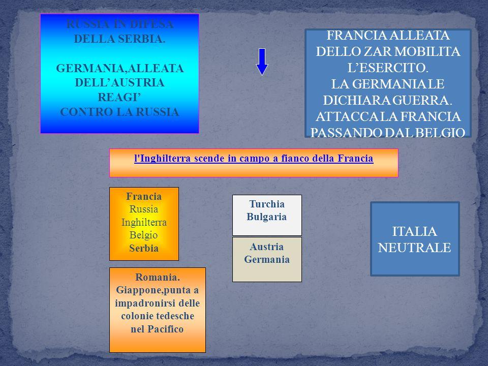 FRANCIA ALLEATA DELLO ZAR MOBILITA L'ESERCITO.