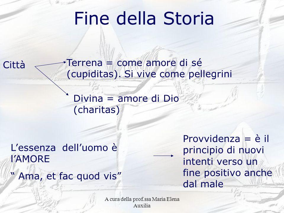 A cura della prof.ssa Maria Elena Auxilia