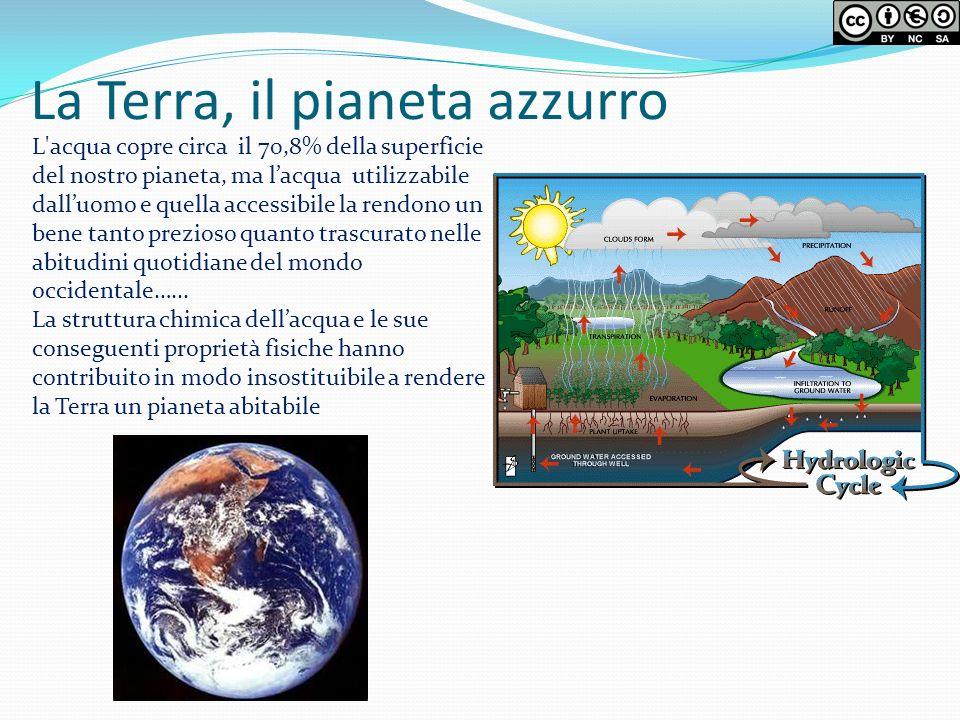 La Terra, il pianeta azzurro