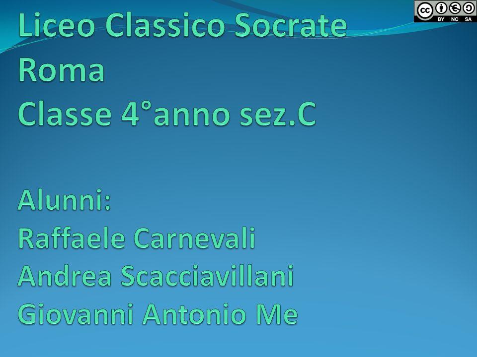 Liceo Classico Socrate Roma Classe 4°anno sez