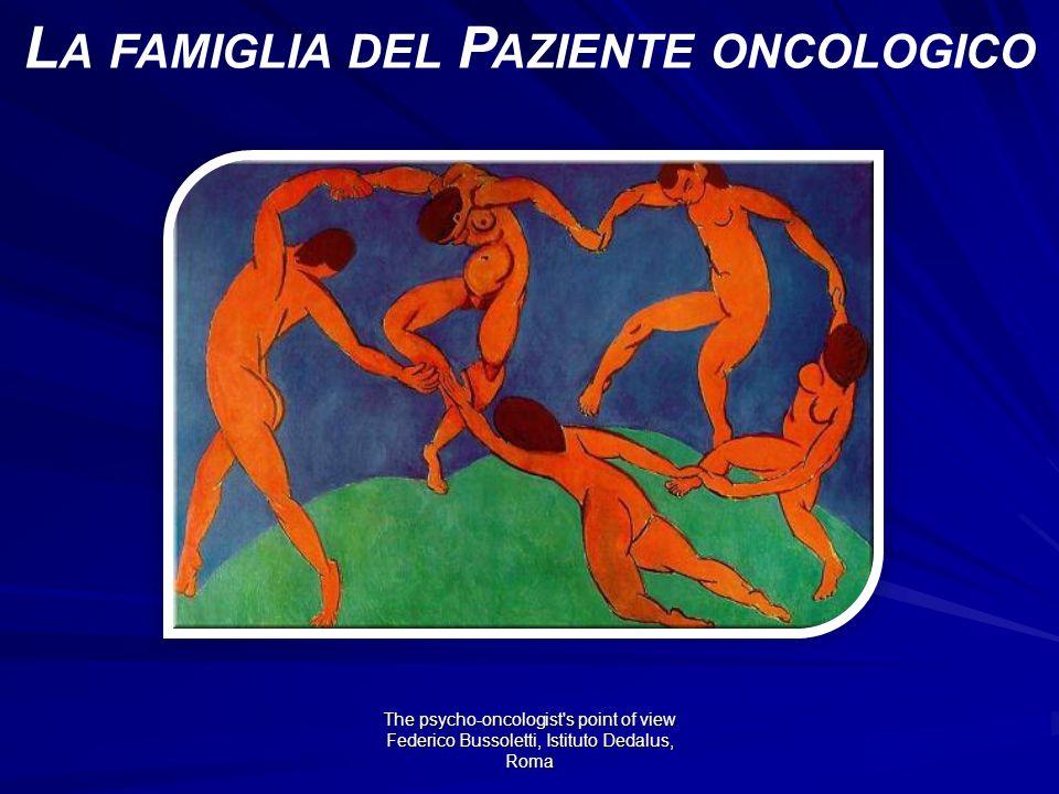 La famiglia del Paziente oncologico