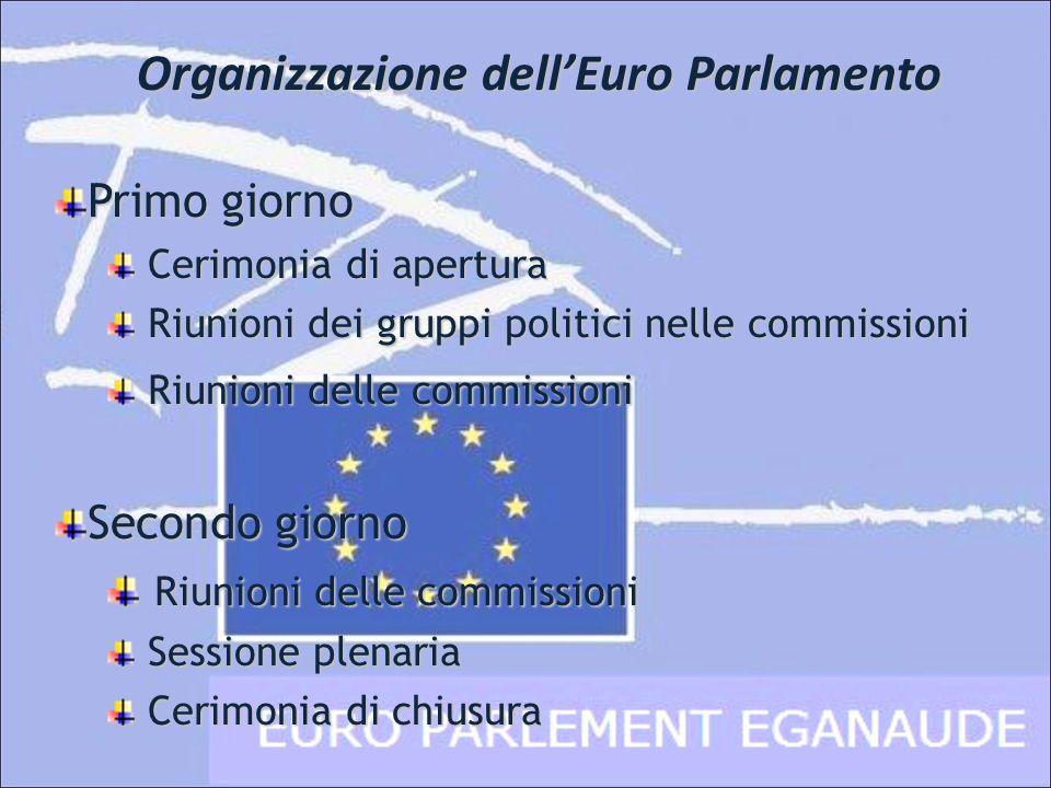Organizzazione dell'Euro Parlamento