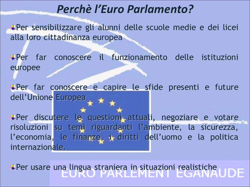 Perchè l'Euro Parlamento