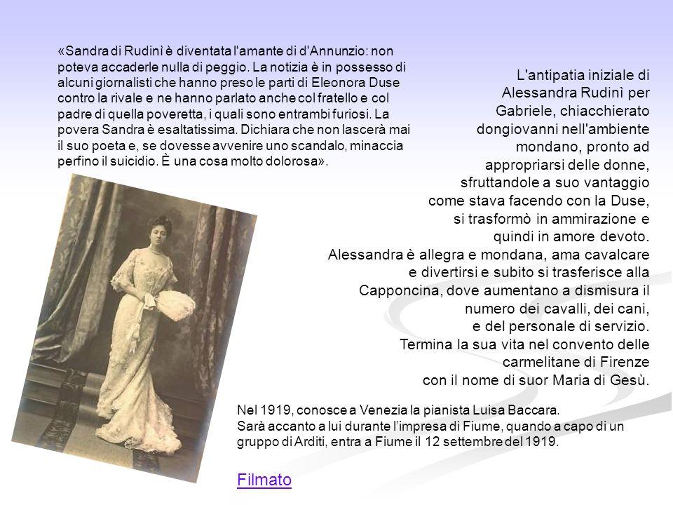 Filmato L antipatia iniziale di Alessandra Rudinì per
