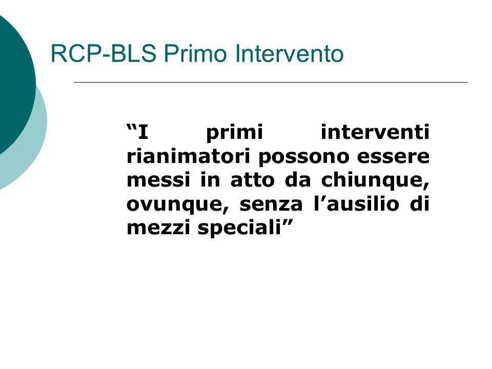 RCP-BLS Primo Intervento