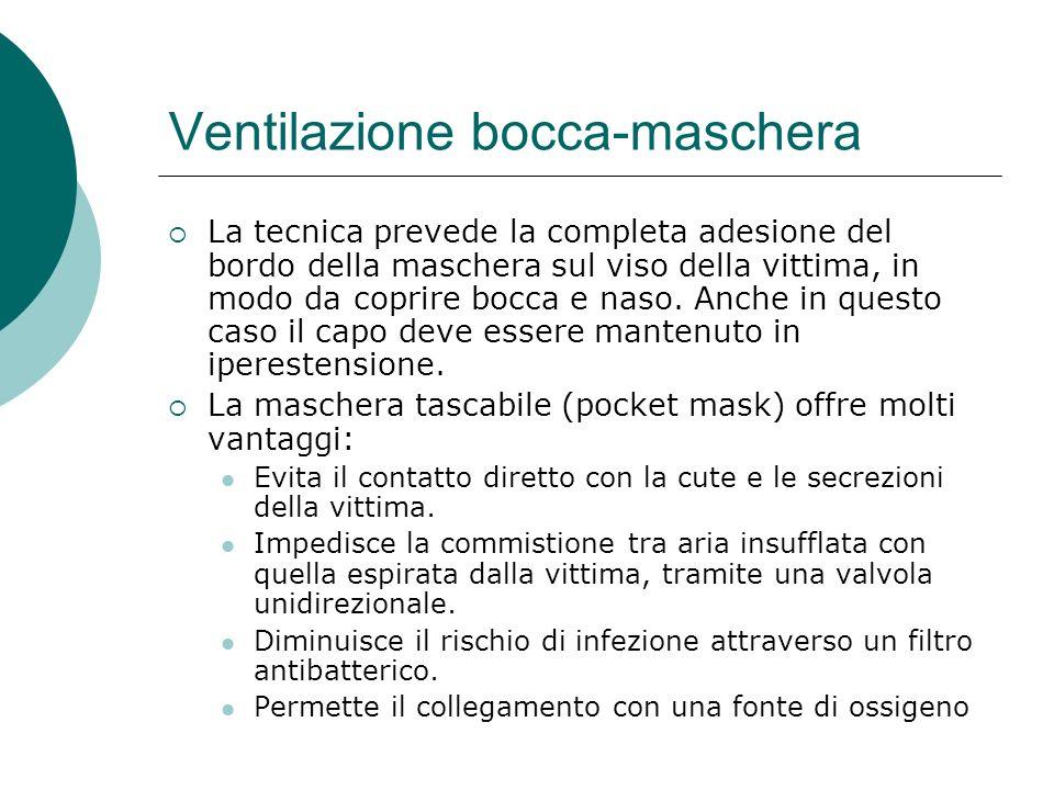 Ventilazione bocca-maschera