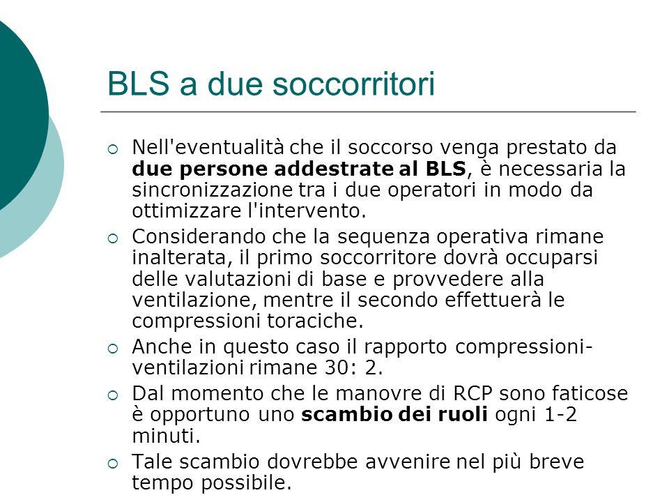 BLS a due soccorritori