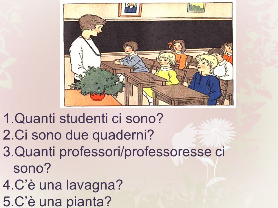 Quanti studenti ci sono