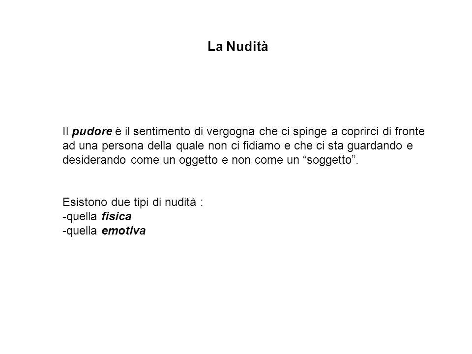La Nudità