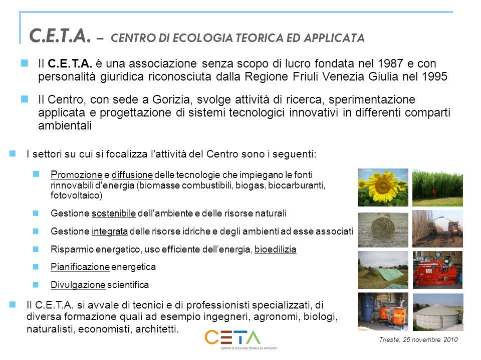 C.E.T.A. – CENTRO DI ECOLOGIA TEORICA ED APPLICATA