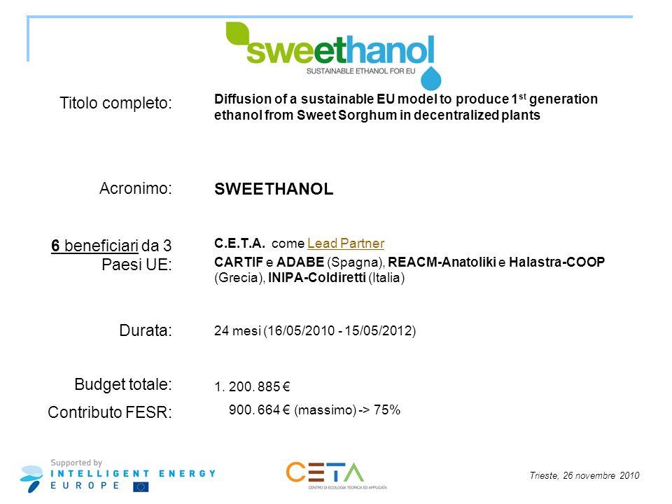 6 beneficiari da 3 Paesi UE: