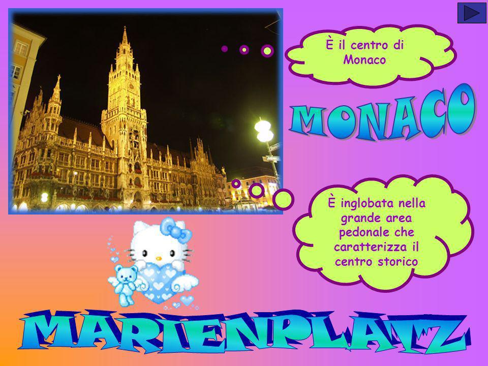 MONACO MARIENPLATZ È il centro di Monaco