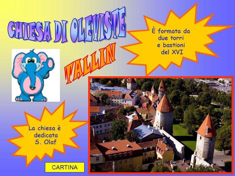 CHIESA DI OLEVISTE TALLIN