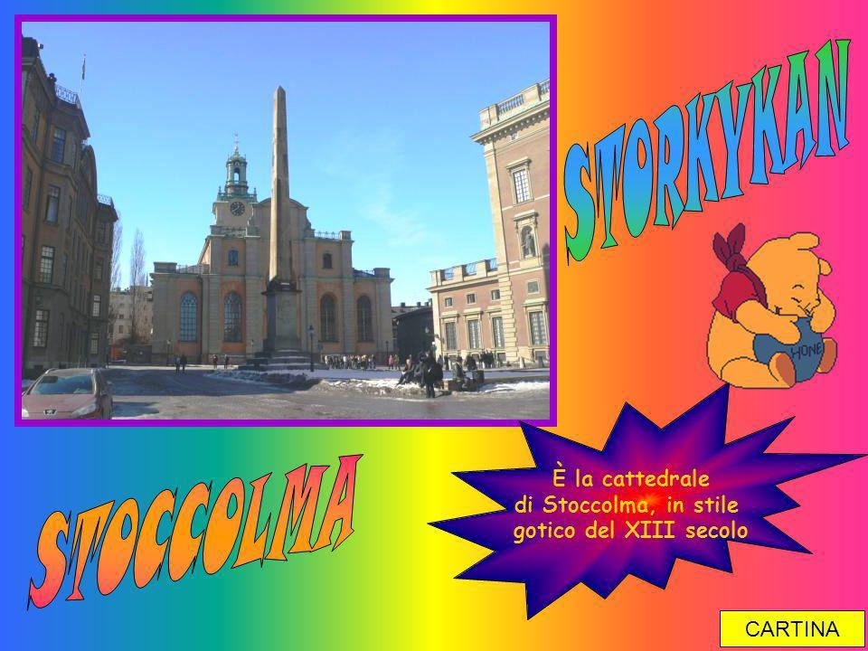 STORKYKAN STOCCOLMA È la cattedrale di Stoccolma, in stile