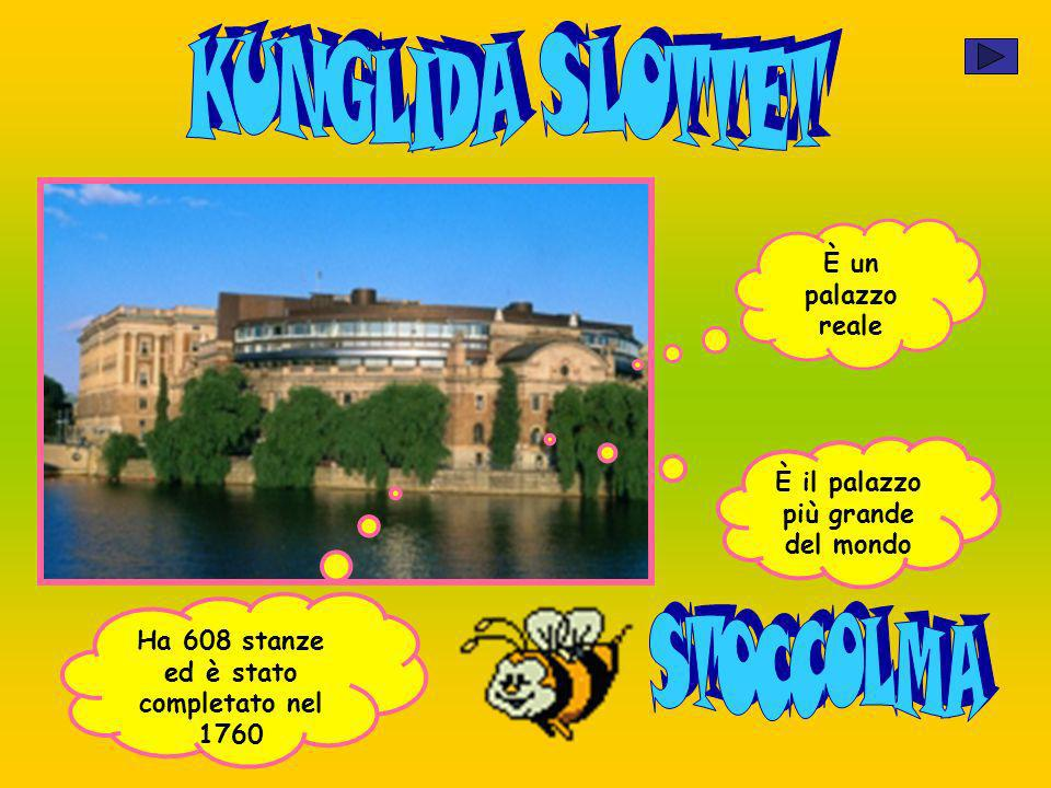 KUNGLIDA SLOTTET STOCCOLMA È un palazzo reale