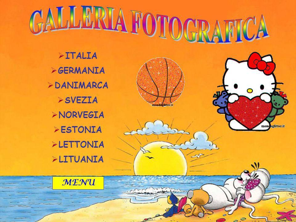 GALLERIA FOTOGRAFICA ITALIA GERMANIA DANIMARCA SVEZIA NORVEGIA ESTONIA