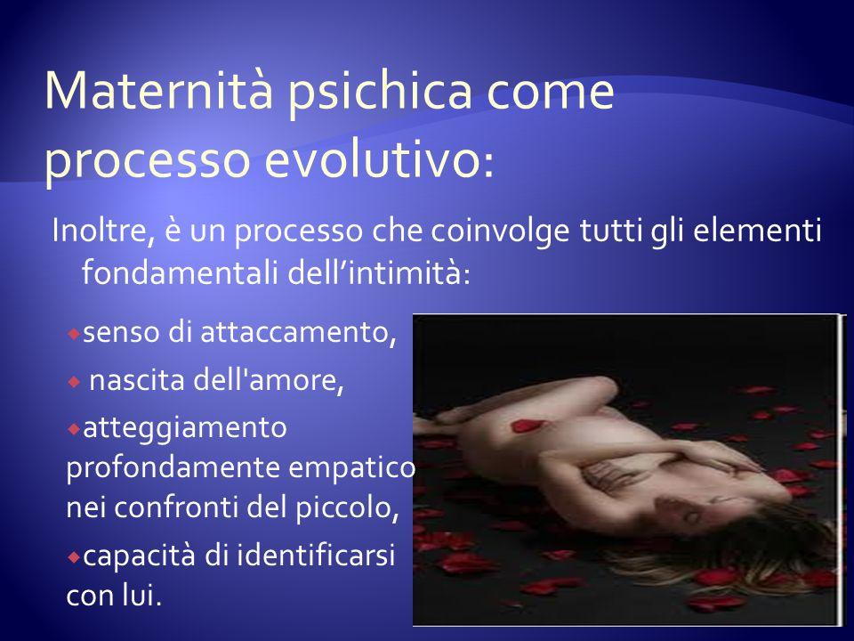 Maternità psichica come processo evolutivo: