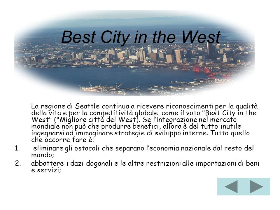 Best City in the West