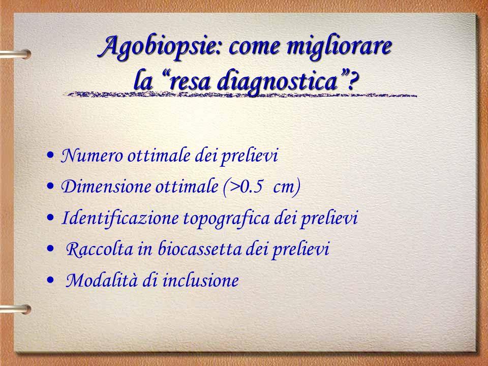Agobiopsie: come migliorare la resa diagnostica