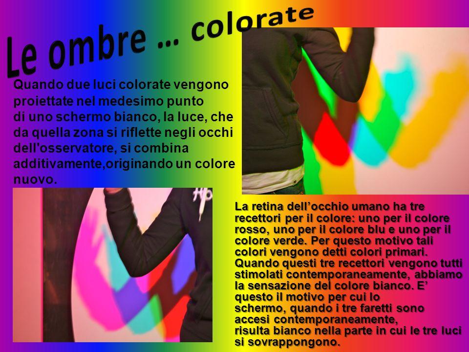 Le ombre … colorate
