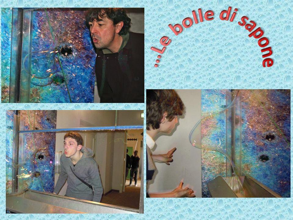 …Le bolle di sapone