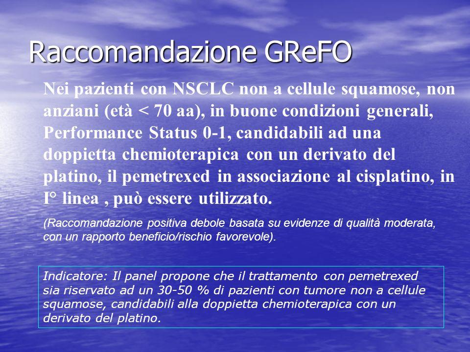 Raccomandazione GReFO