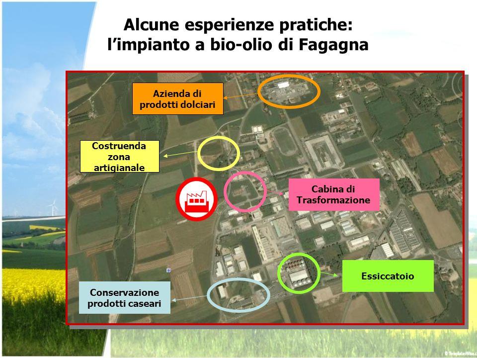 Alcune esperienze pratiche: l'impianto a bio-olio di Fagagna