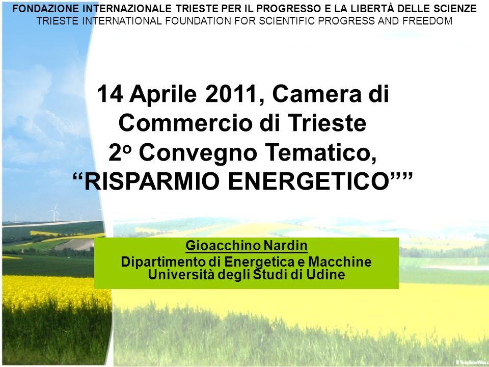 2o Convegno Tematico, RISPARMIO ENERGETICO