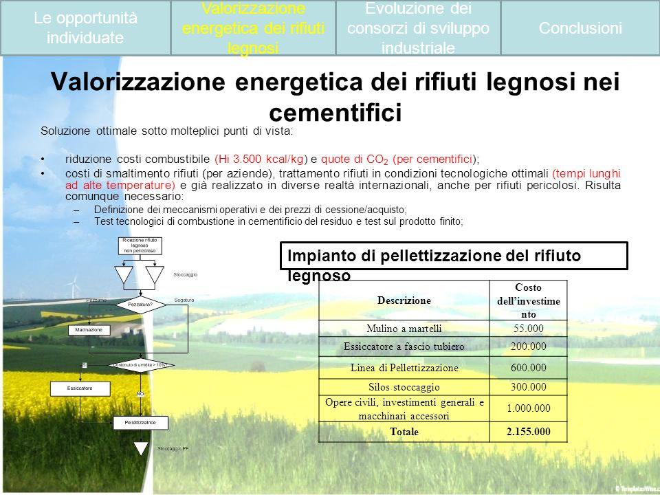 Valorizzazione energetica dei rifiuti legnosi nei cementifici