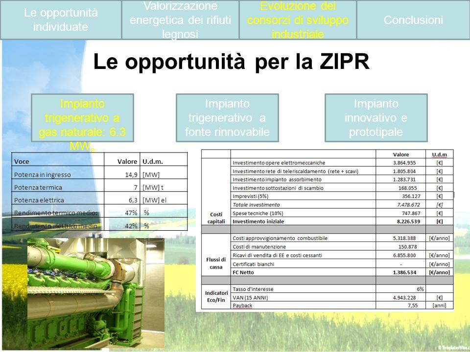 Le opportunità per la ZIPR