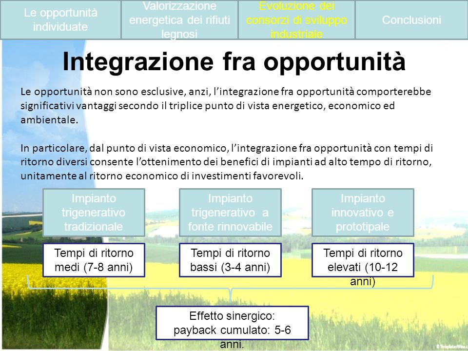 Integrazione fra opportunità