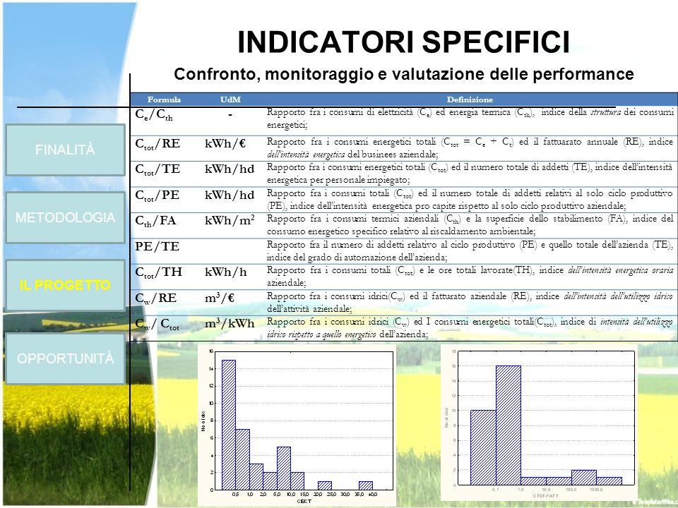 Confronto, monitoraggio e valutazione delle performance