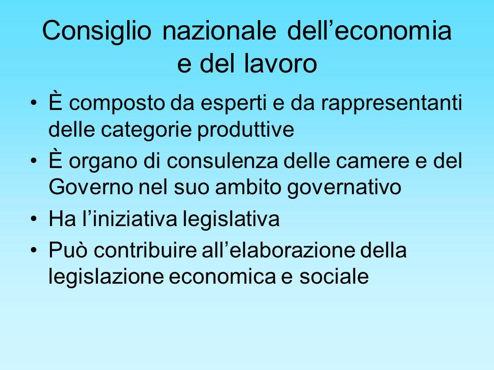 Consiglio nazionale dell'economia e del lavoro