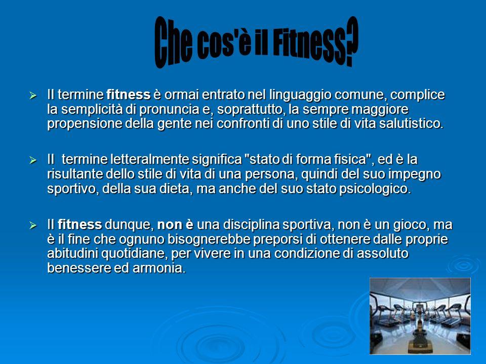Che cos è il Fitness