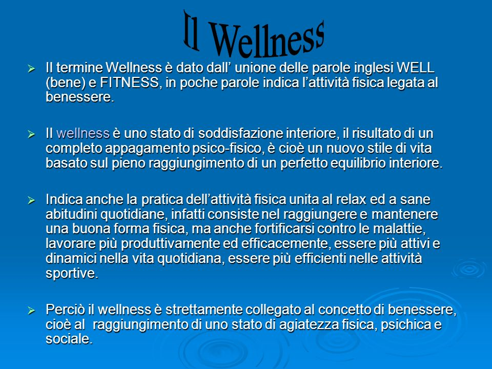 Il Wellness