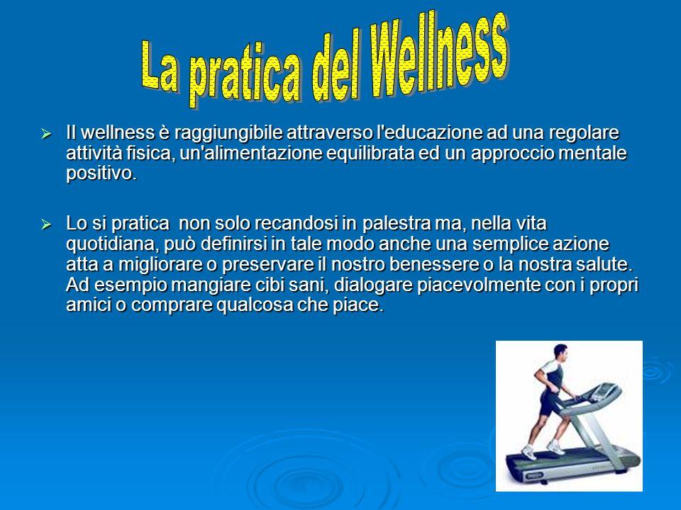 La pratica del Wellness